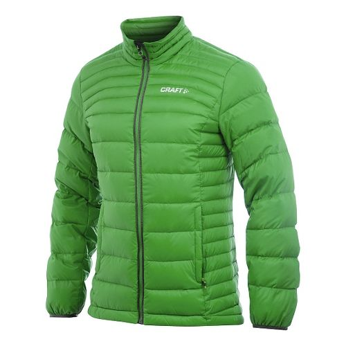 Mens Craft Light Down Cold Weather Jackets - Craft Green M