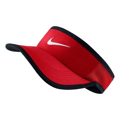 Nike Featherlight Visor Headwear - University Red M/L