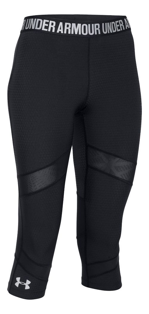 Womens Under Armour Coolswitch Capris Pants - Black S