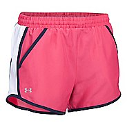 Womens Under Armour Fly By Run Lined Shorts