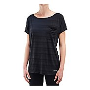 Womens Saucony Relay Short Sleeve Technical Tops