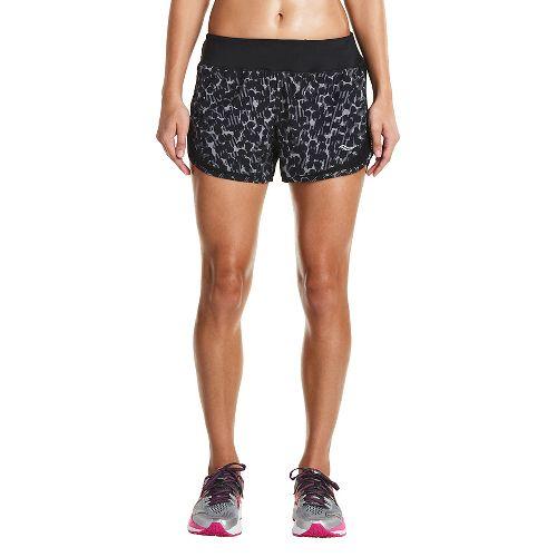 Womens Saucony Impulse Shorts - Black Dot XS