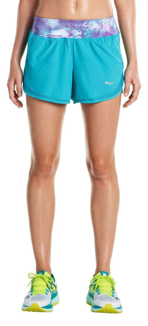 Womens Saucony Impulse Shorts - Barbados S