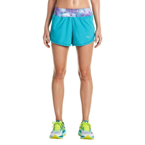 Womens Saucony Impulse Shorts - Barbados M
