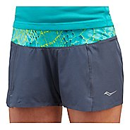 Womens Saucony Pinnacle Short Lined Shorts