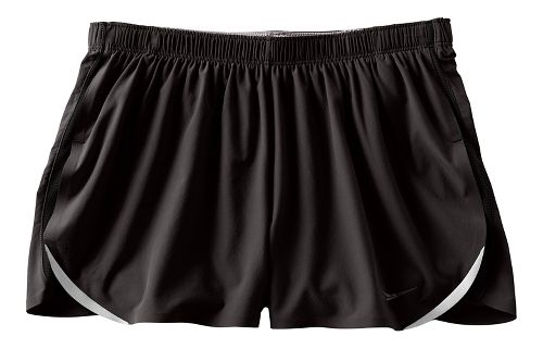 Womens Saucony Endorphin Split Shorts - Black L