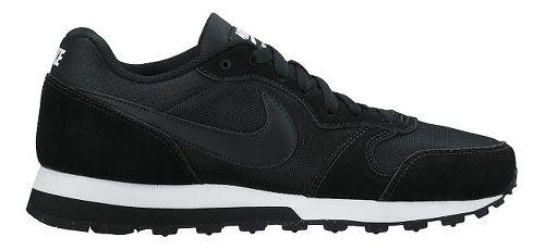 Womens Nike MD Runner 2 Casual Shoe - Black 8