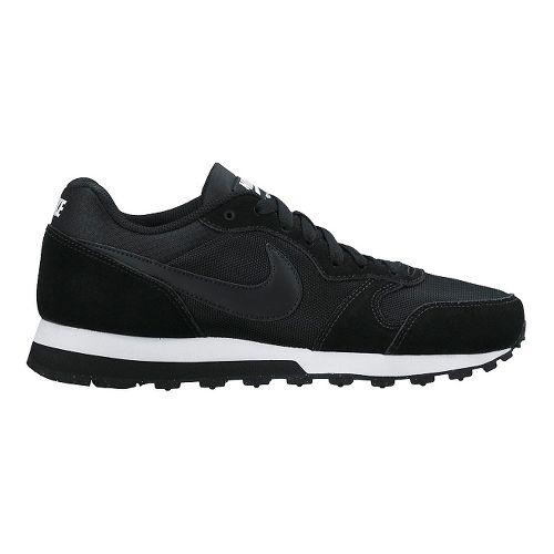 Womens Nike MD Runner 2 Casual Shoe - Black 6.5
