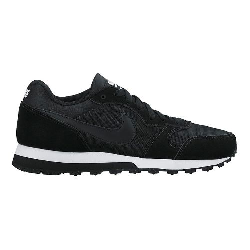 Womens Nike MD Runner 2 Casual Shoe - Black 8.5