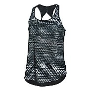 Womens Under Armour Fly By Printed Run Sleeveless & Tank Technical Tops