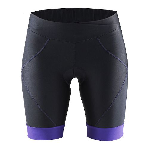 Womens Craft Move Compression & Fitted Shorts - Black/Dynasty L