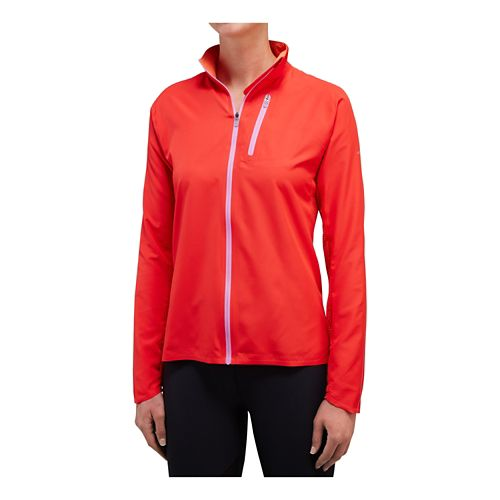 Womens Saucony Speed Of Lite Running Jackets - Hibiscus XS