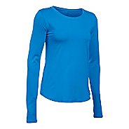 Womens Under Armour Fly By Solid Long Sleeve Technical Tops