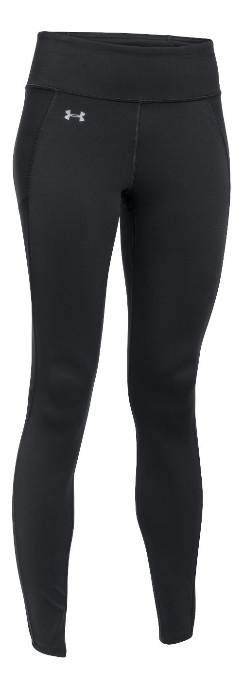 Womens Under Armour Fly By Run Tights & Leggings Pants - Black XS