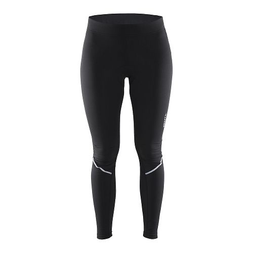 Womens Craft Move Thermal Tights Capris Pants - Black M