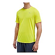 Mens Saucony Hydralite Short Sleeve Technical Tops