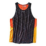Mens Saucony Endorphin Singlet Sleeveless & Tank Technical Tops