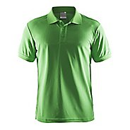 Mens Craft Polo Shirt Pique Classic Short Sleeve Technical Tops