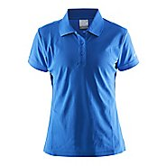 Womens Craft Polo Shirt Pique Classic Short Sleeve Technical Tops