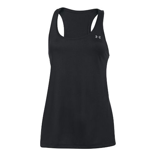 Womens Under Armour Tech Sleeveless & Tank Technical Tops - Black XL