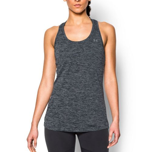Womens Under Armour Tech Twist Sleeveless & Tank Tops Technical Tops - Black L