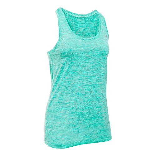 Womens Under Armour Tech Twist Sleeveless & Tank Tops Technical Tops - Absinthe Green M ...
