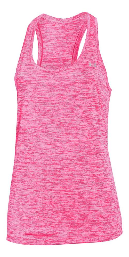 Womens Under Armour Tech Twist Sleeveless & Tank Tops Technical Tops - Harmony Red S