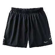 Mens Saucony Run Lux Short Lined Shorts