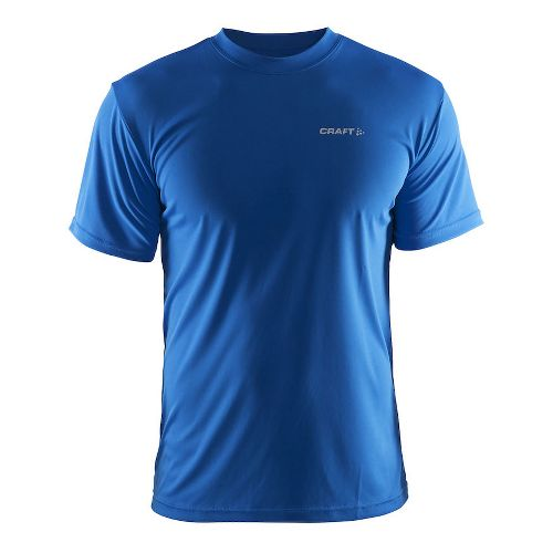 Mens Craft Prime Tee Short Sleeve Technical Tops - Sweden Blue S