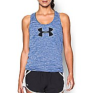 Womens Under Armour Graphic Twist Tech Sleeveless & Tank Technical Tops