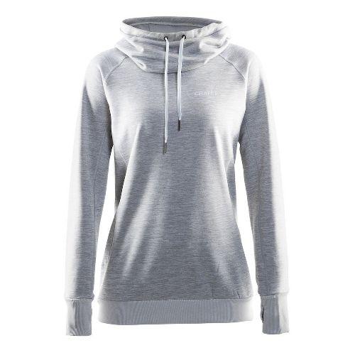 Womens Craft Pure Half-Zips & Hoodies Technical Tops - Grey M