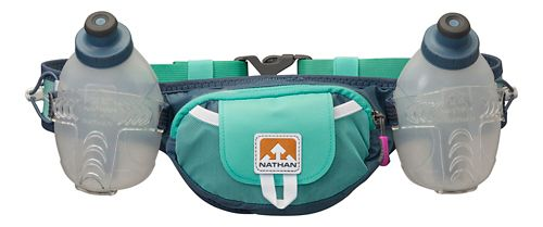Nathan Trail Mix Plus 2 Bottle Belt (20 ounce) Hydration - Cockatoo