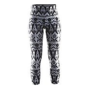 Womens Craft Pure Print Tights & Leggings Pants