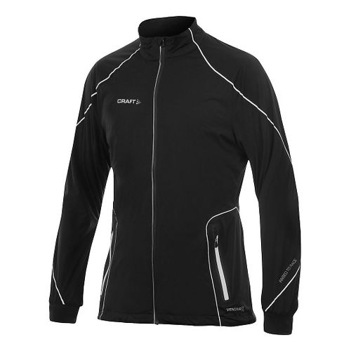 Mens Craft PXC High Function Club Running Jackets - Black XL