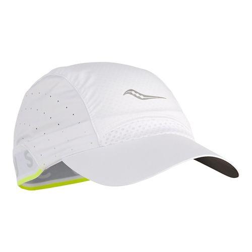 Saucony Speed Run Cap Headwear - White