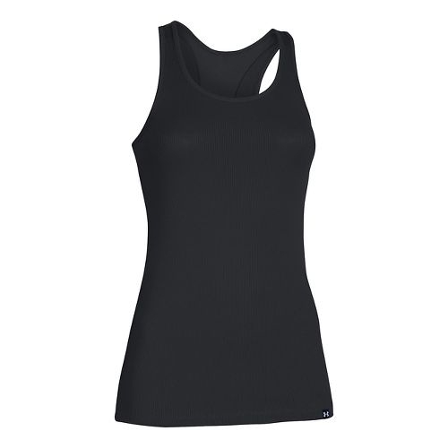 Womens Under Armour Victory Sleeveless & Tank Tops Technical Tops - Black XS
