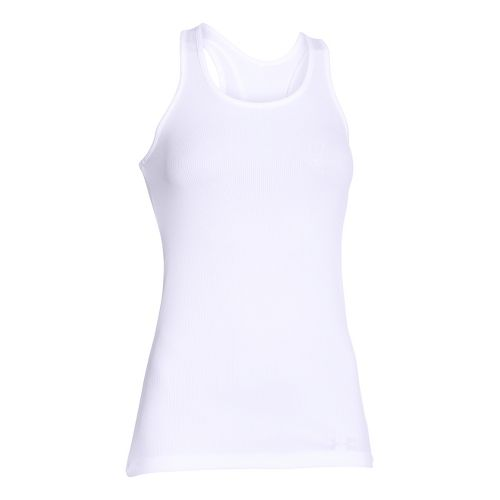 Womens Under Armour Victory Sleeveless & Tank Tops Technical Tops - White S