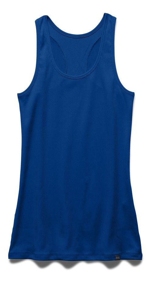 Womens Under Armour Victory Sleeveless & Tank Tops Technical Tops - Royal L