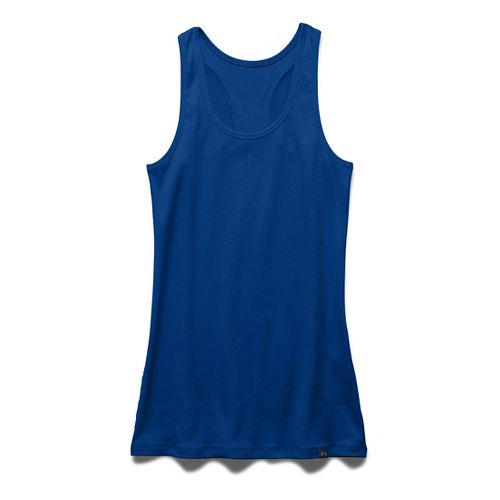 Womens Under Armour Victory Sleeveless & Tank Tops Technical Tops - Royal M