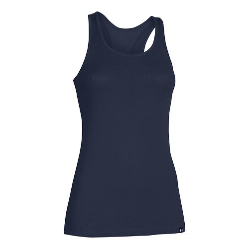 Womens Under Armour Victory Sleeveless & Tank Tops Technical Tops - Midnight Navy L