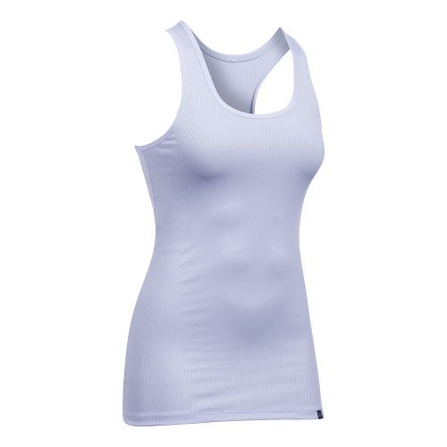 Womens Under Armour Victory Sleeveless & Tank Tops Technical Tops - Lavender Ice L