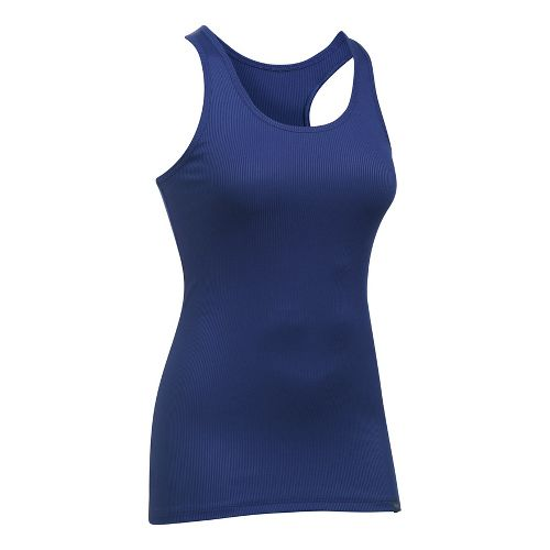 Womens Under Armour Victory Sleeveless & Tank Tops Technical Tops - Europa Purple XL