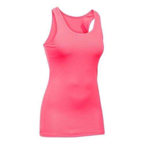 Womens Under Armour Victory Sleeveless & Tank Tops Technical Tops - Pink Shock M