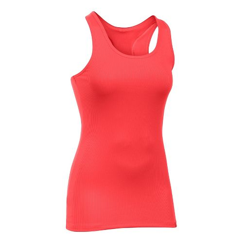 Womens Under Armour Victory Sleeveless & Tank Tops Technical Tops - Pomegranate XL
