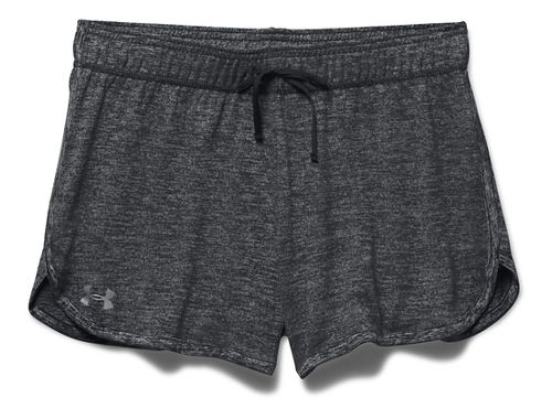 Womens Under Armour Twist Tech Lined Shorts - Black M