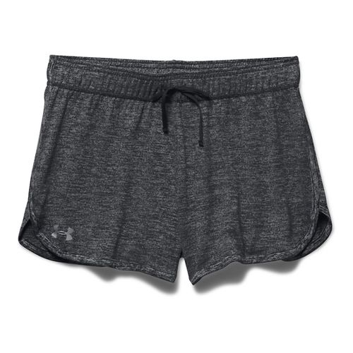 Womens Under Armour Twist Tech Lined Shorts - Black XS