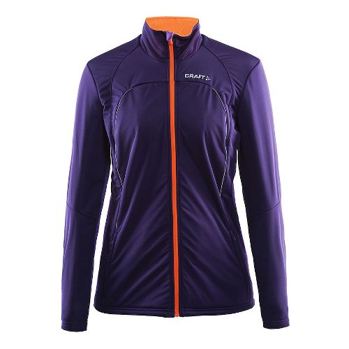 Womens Craft Storm Running Jackets - Dynasty/Lilac M