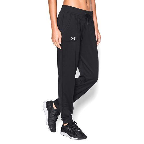 Womens Under Armour Tech Pants - Black L