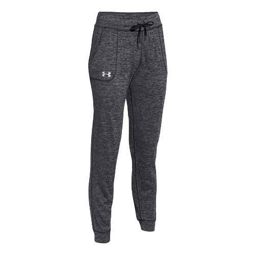 Womens Under Armour Twist Tech Pants - Black/Black L