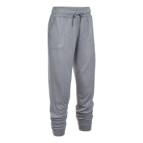 Womens Under Armour Twist Tech Pants - Steel/Steel M